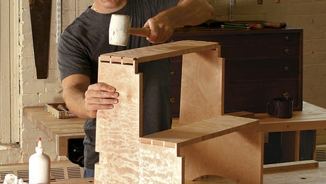 Tommy MacDonald wrote about building this classic step stool in the Jan/Feb 2009 edition of our magazine (FW #203).