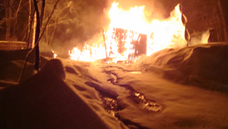 Furniture maker Jon Brooks of New Hampshire lost his workshop to a fire in January.