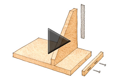 Learn how to safely cut dovetail keys on the router table using an ...