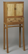 Cabinet on Stand by James Krenov