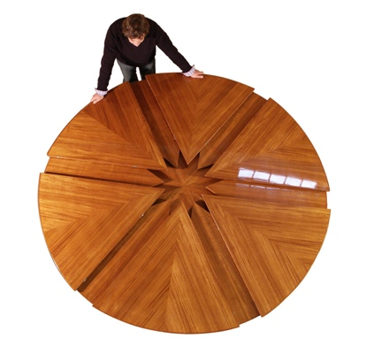 Unique expanding tables from db fletcher finewoodworking for Jupe mechanism