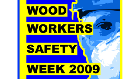 Safety week logo from TheWoodWhisperer.com