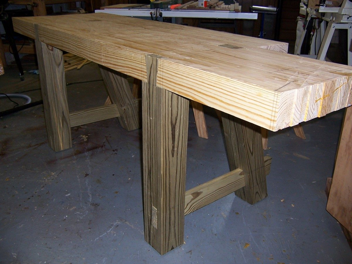 Making A Roubo Workbench Part 3 Finewoodworking
