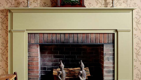 Free Plans: Federal Fireplace Mantel - FineWoodworking