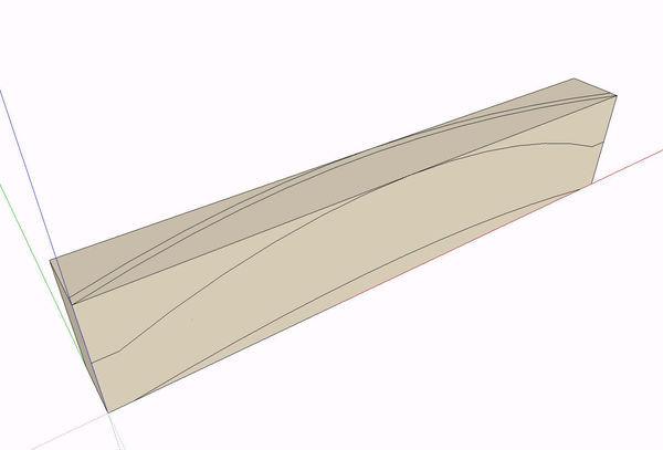 Sketchup Slat 1