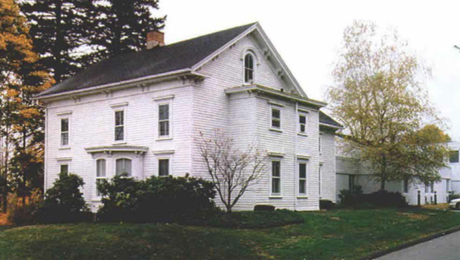 What photo illustrates a post about our new blog? How about a snapshot of the old Victorian in Newtown, Connecticut, that became the first new home to Fine Woodworking magazine in 1976. Read the back story.