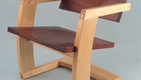 The Palo Alto Chair by J. Rusten Furniture Studio.