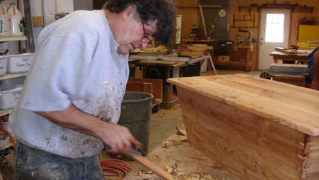 """Charles Neil describes himself as """"all southern, definitely redneck and probably a little country."""" He also builds amazing period reproduction furniture."""