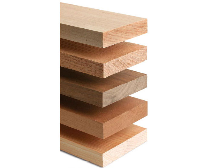 see chart below with recommended clamping pressure for 5 different types of wood article types woods