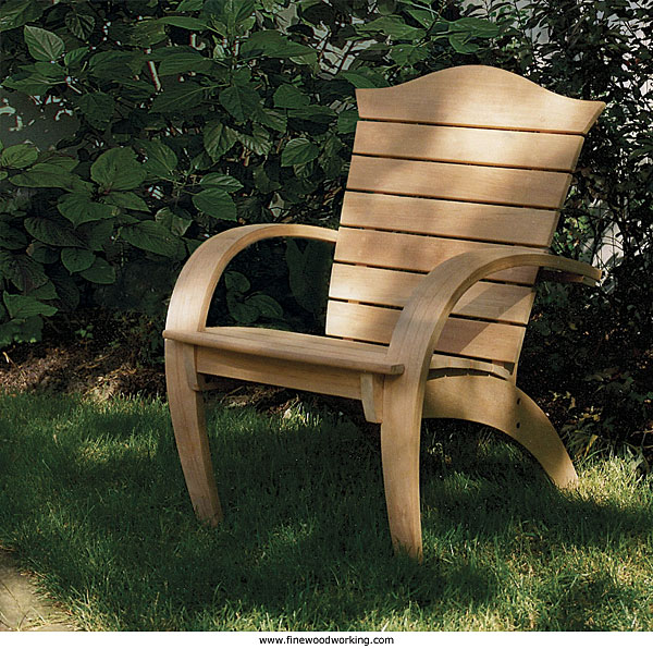 Find Details On Making This Chair In The Latest Issue Of Fine Woodworking.  Click Here To Read The Article Online. Part 77