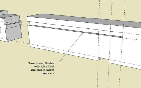 Dashed lines sketchup download