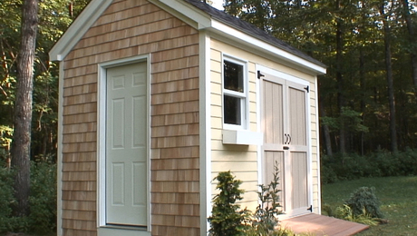 Tune in to Build a Classic Colonial Shed, a free video series on FineHomebuilding.com.