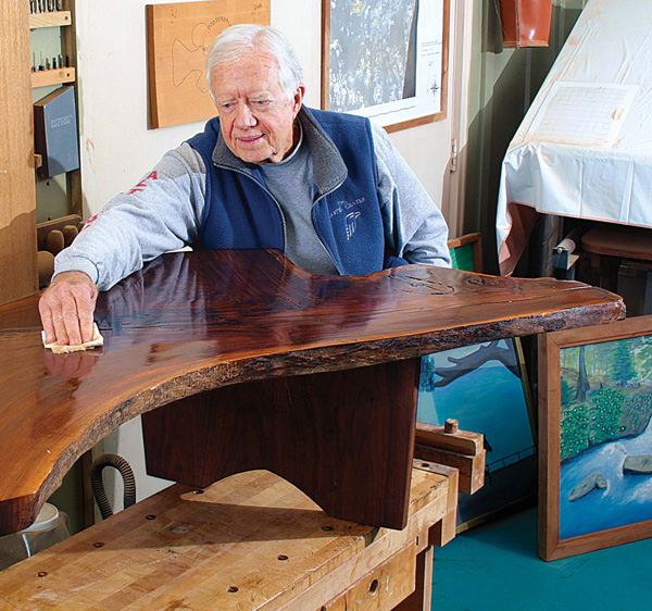 Former President Jimmy Carter Is Also A Woodworker. He Celebrated His  Birthday Oct. 1.