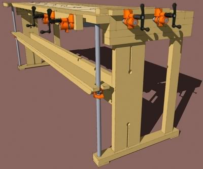 New fangled workbench revisited plans now available for Free metal project plans