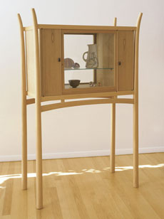 Showcase Cabinet by James Krenov