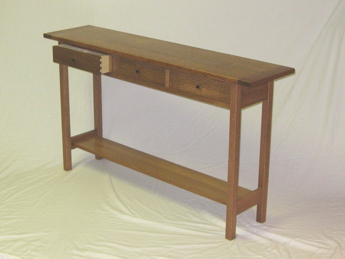 Sofa table 2011 finewoodworking for Email table design