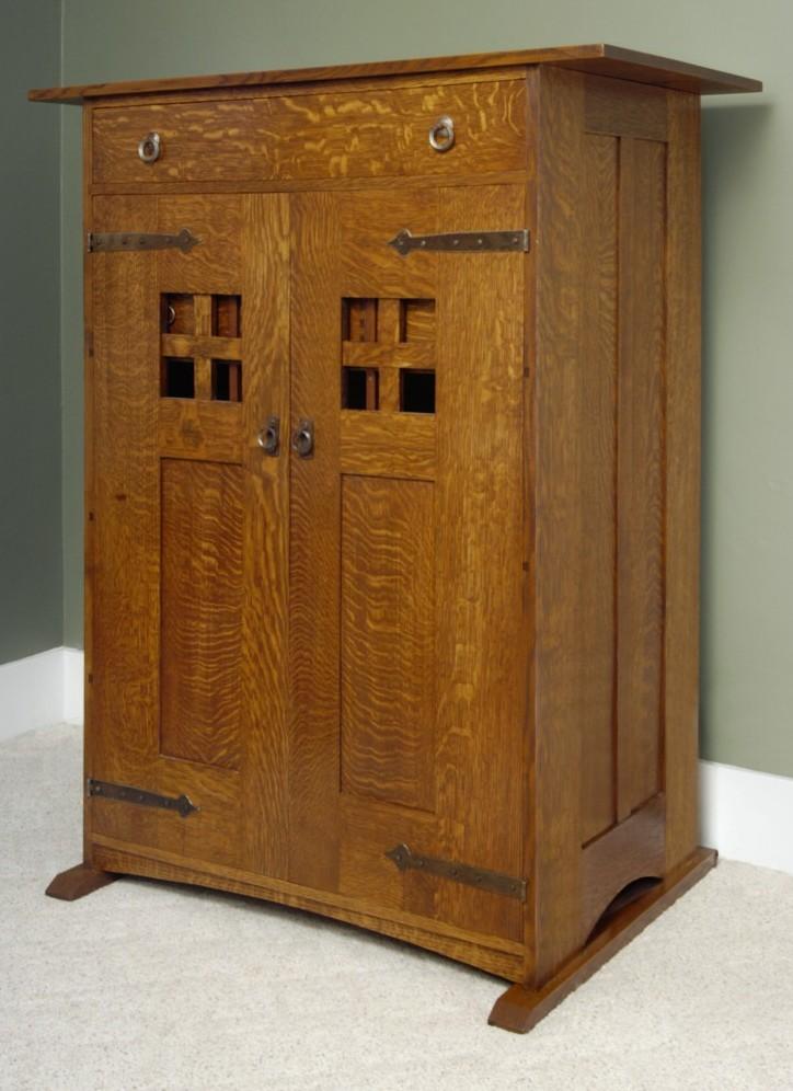 a man 39 s dressing cabinet finewoodworking. Black Bedroom Furniture Sets. Home Design Ideas