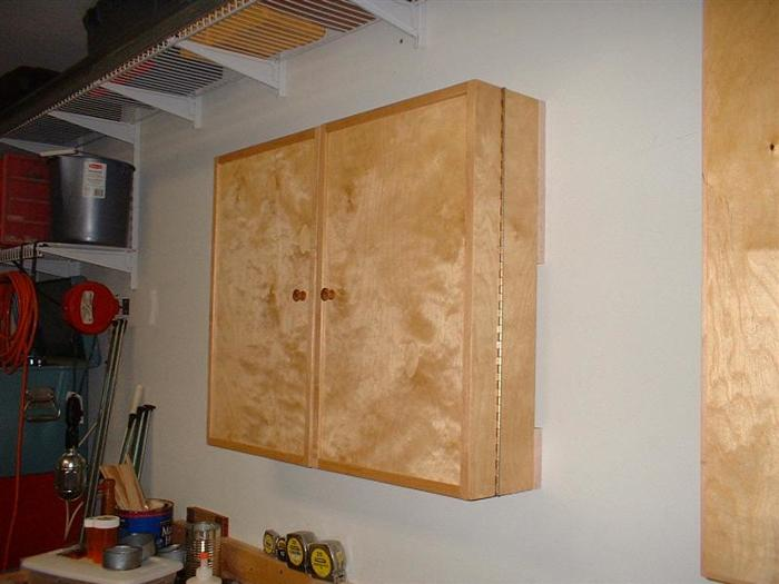Small wall hung tool cabinet - FineWoodworking