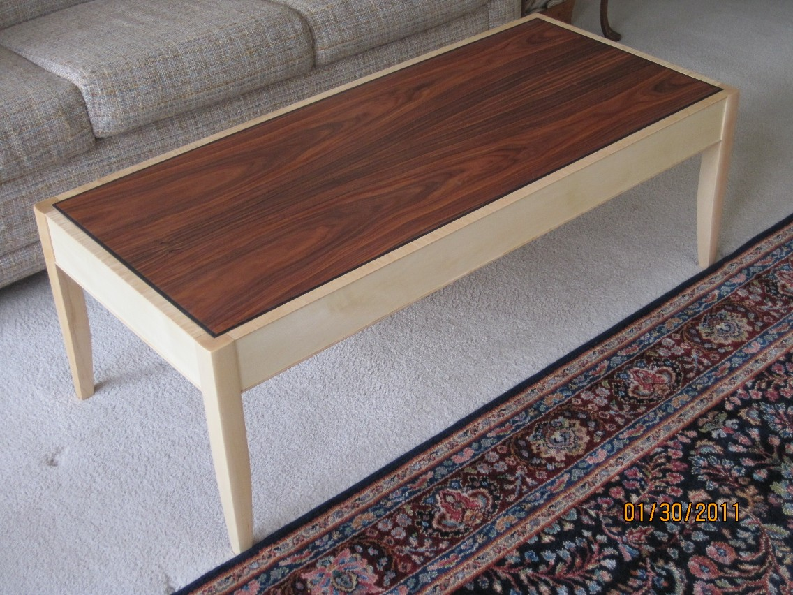 Contemporary Coffee Table Finewoodworking