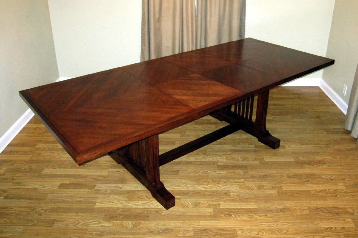Dining Room Tables With Leaves dining room table - finewoodworking