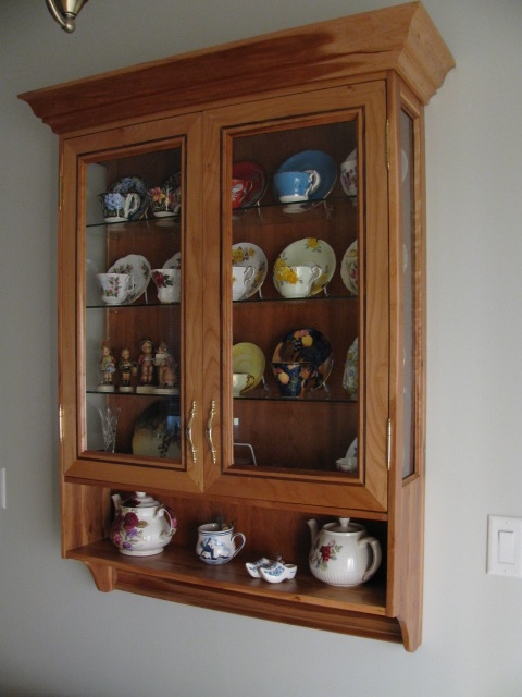 Tea Cup cabinet - FineWoodworking