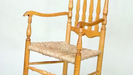 Banister Back Rocking Chair - FineWoodworking