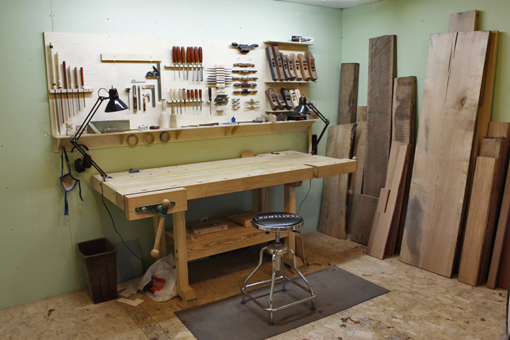 Modern Furniture Workshop building the perfect workshop - finewoodworking