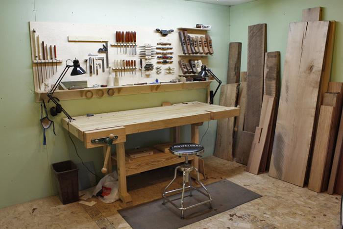 A Modest Shop - FineWoodworking