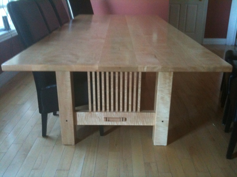 dining room table plans. Dining Room Table  FineWoodworking