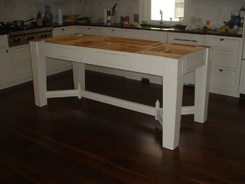 Free Standing Kitchen Islands free standing kitchen island - finewoodworking