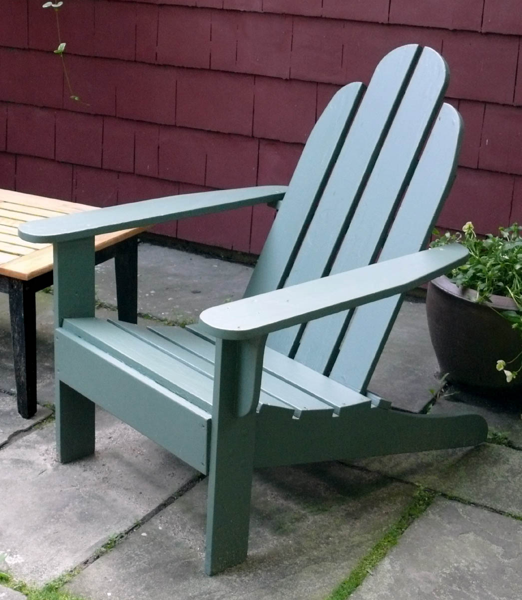 Garden Furniture Chairs how to make outdoor furniture - finewoodworking