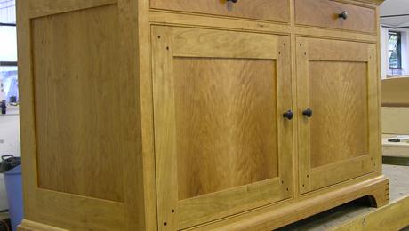 electronics cabinet