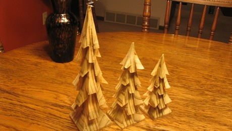 Bandsaw Christmas Trees - FineWoodworking