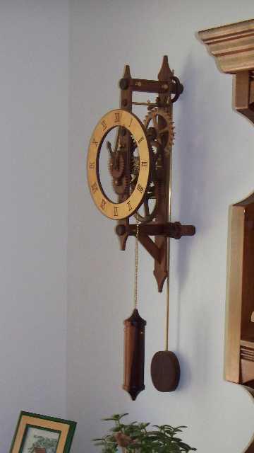 Wooden Gear Clock - FineWoodworking