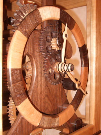 Tall Case - All Wooden Gears - Clock - FineWoodworking
