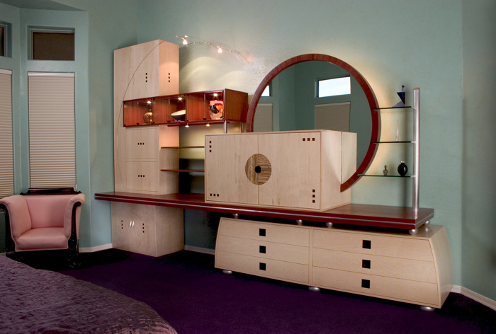8 piece bedroom wall unit. Bedroom Storage Display Unit   FineWoodworking