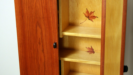 maple leaf marquetry