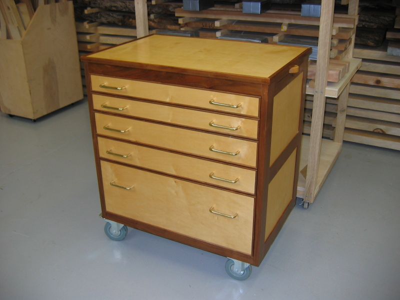 Tool Chest On Wheels Finewoodworking