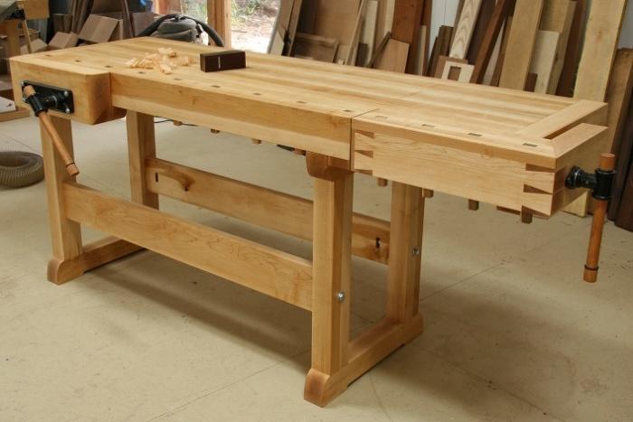 new workbench - FineWoodworking