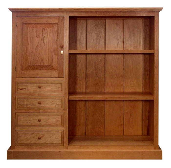 Shaker Style Bookcase Finewoodworking