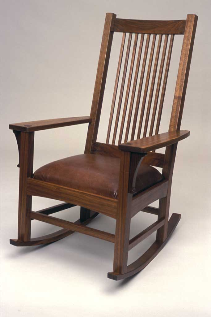 Craftsman Style Rocking Chair