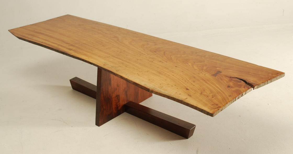 George Nakashima inspired coffee table - FineWoodworking