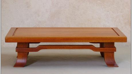 Solid Mahogany Bonsai Stand