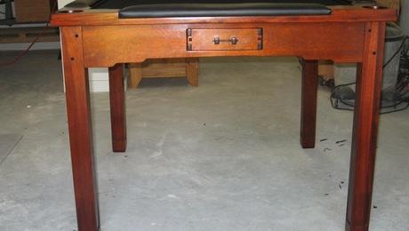 Greene and greene inspired mahjong table finewoodworking for Greene and greene inspired furniture