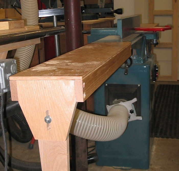 Jointer Table Extensions Finewoodworking