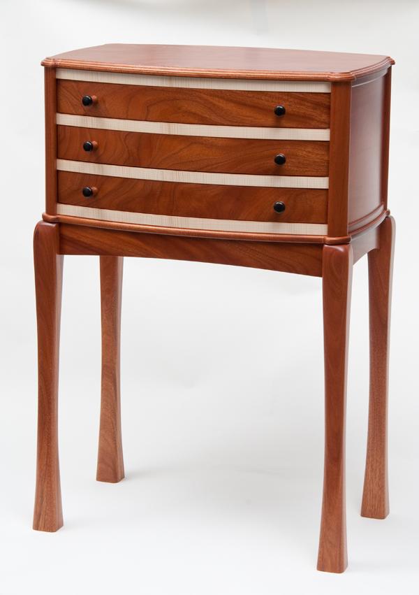 Mahogany silverware cabinet - FineWoodworking