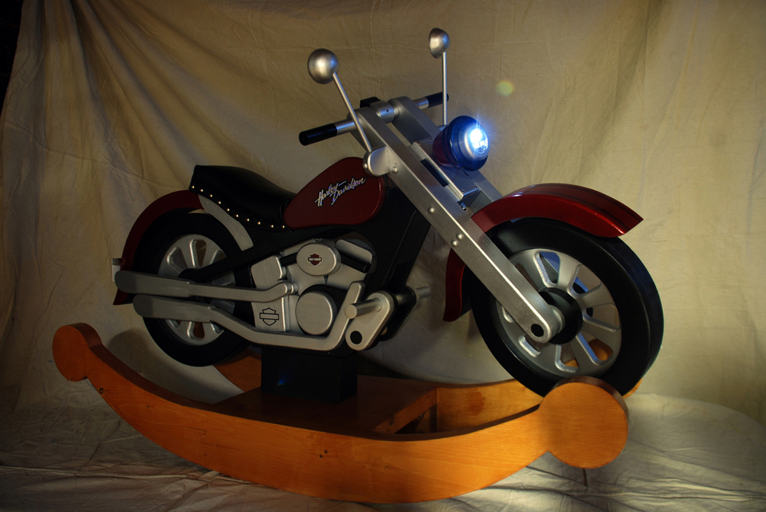 Motorcycle Rocker - FineWoodworking