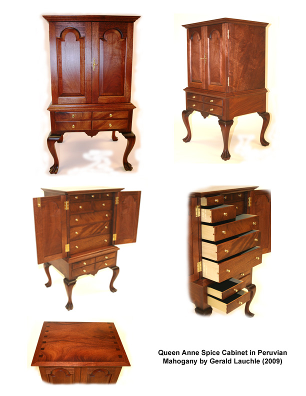 Queen Anne Spice Cabinet - FineWoodworking