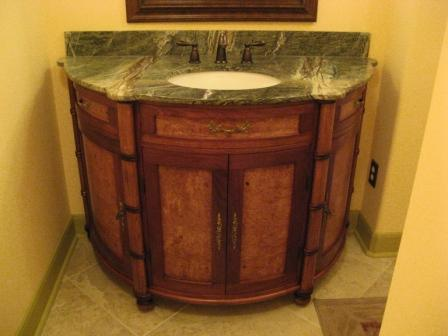 curved bathroom vanity finewoodworking