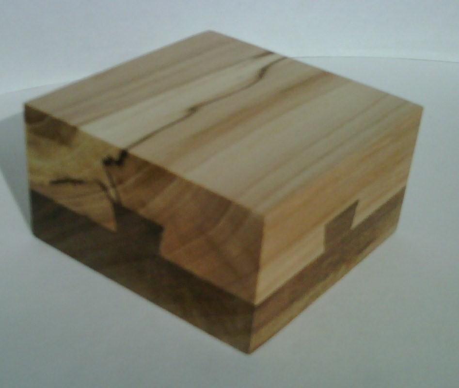 dovetail box puzzle. side 4 \u0026 1 dovetail box puzzle